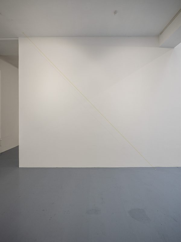 yellow wire, hooks, dimensions variable, unique work with a certificate, Photo Vincent Royer, OpenUp Studio